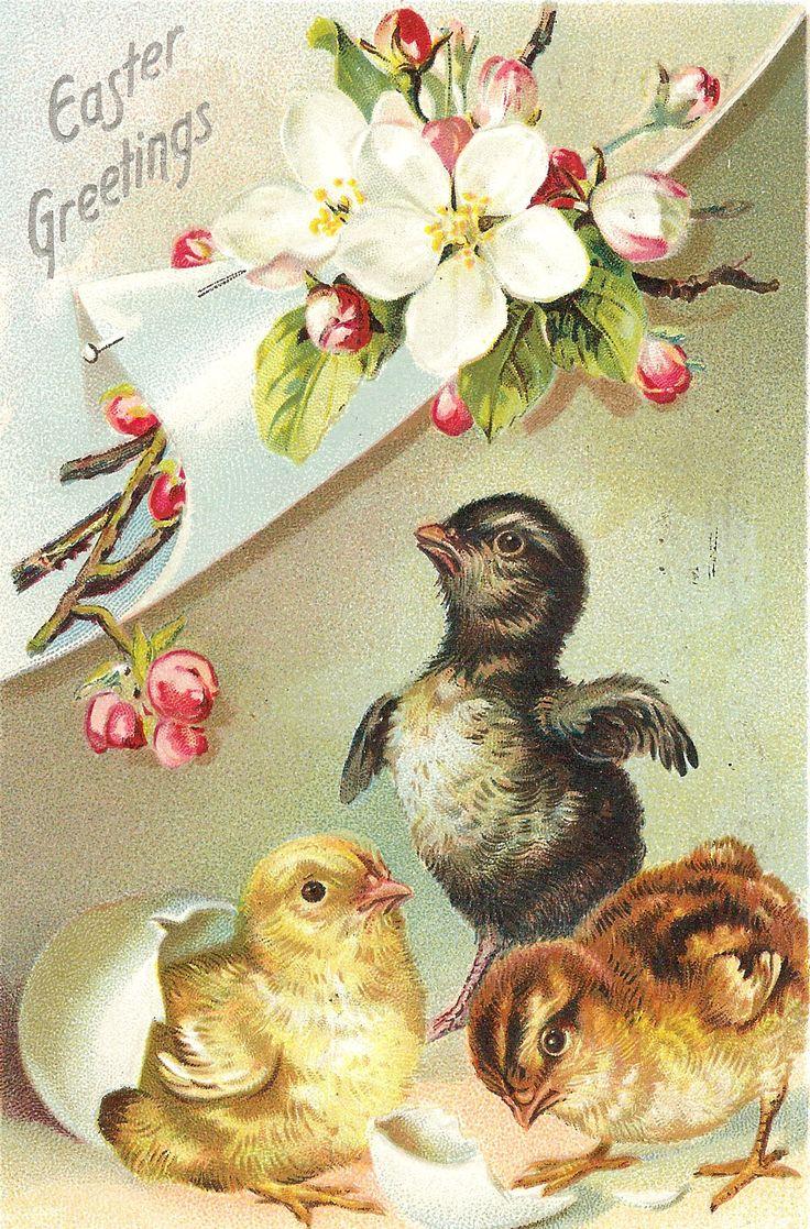 699 Best Vintage Easter Images On Pinterest