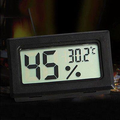 Цифровой ЖК-Крытый Измеритель Температуры И Влажности Термометр Гигрометр