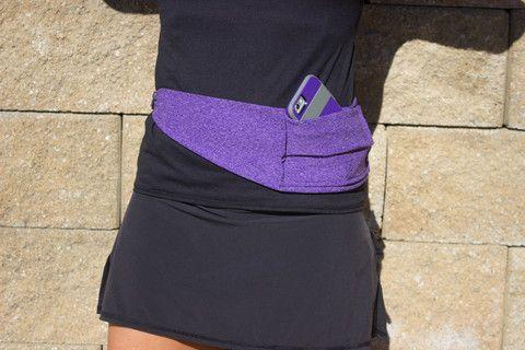Fit Belt Heathered Purple