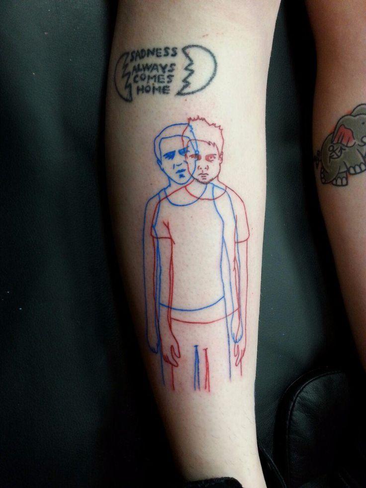 tatuajes peliculas fight club