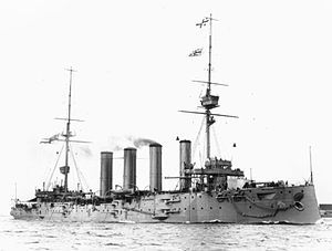 HMS Good Hope lost 1 November 1914. Read more on Ulster Men lost: http://historyhubulster.co.uk/centenary-battle-of-coronel/