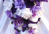Purple Wedding Bouquets as  wedding bouquet fake flowers With Beautiful Design For Wedding Bouquet