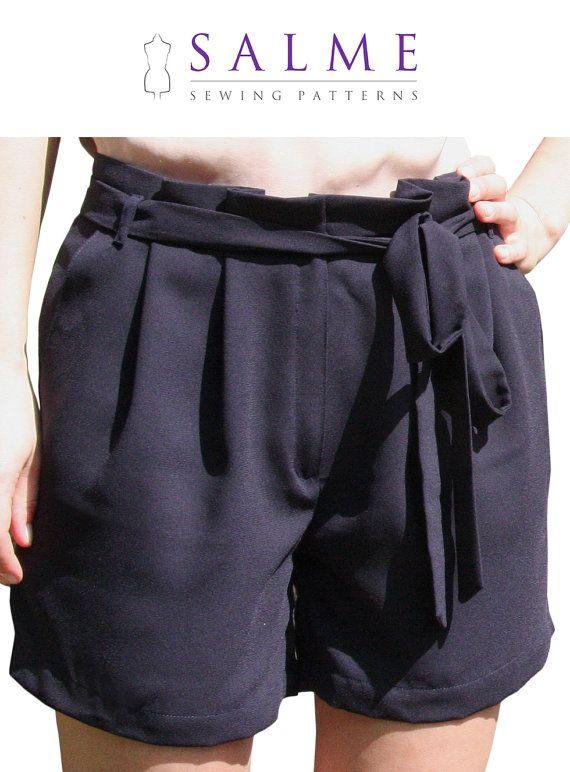 Sewing Circle: Paper bag waist shorts! / Create / Enjoy