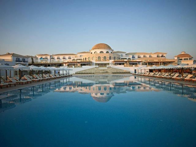 Mitsis Laguna Resort and Spa 5 Stars luxury hotel in Hersonissos Offers Reviews