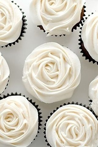 Wedding cupcakes!! Have with the cake!