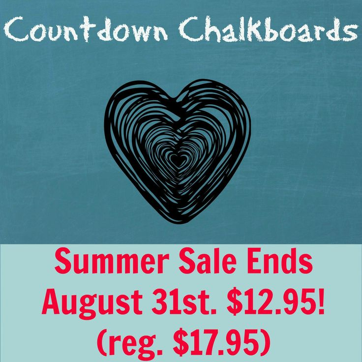 Pregnancy Countdowns on sale now!