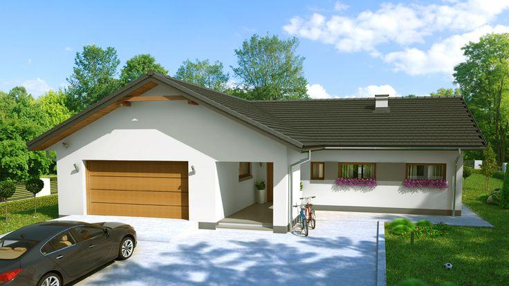 Projekat. Kuća NOWYM MEKSYKU 2G (DOM ZA1-94) | KucaSnova.com