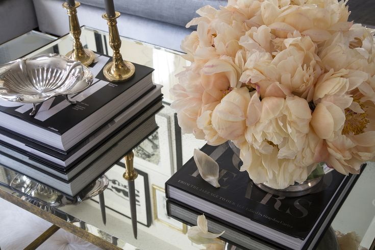 Coffee Table Styling by Wendy Labrum Interiors, LLC ...