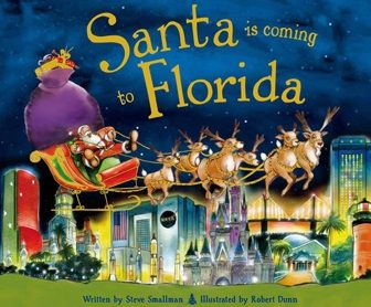 11 best christmas books images on pinterest birthdays mystic santa is coming to florida fandeluxe Image collections
