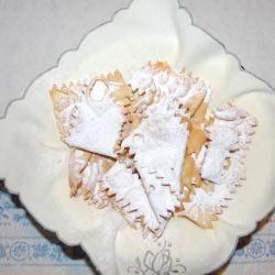 Italienische Chiacchiere mit Kamutmehl