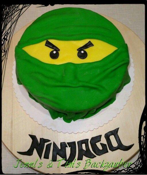 Lego Ninjago Torte / Green Ninja Cake