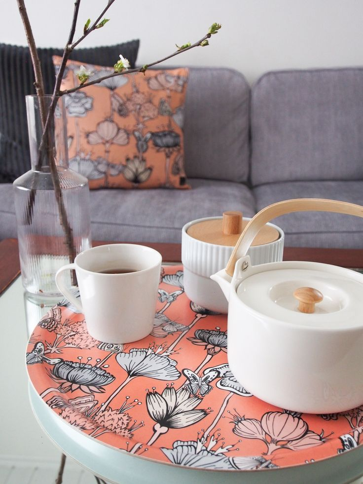 Bricka SLINGRIG pastell 38cm - Ulrika Lavér