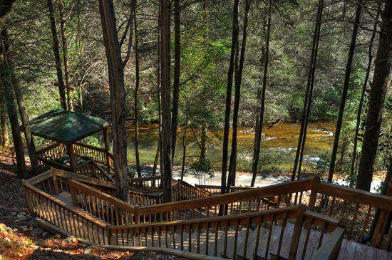 Above The River Blue Ridge Ga From Mountain Laurel Cabin