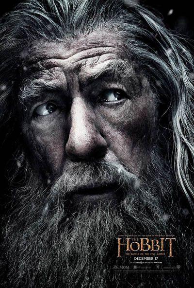 The Hobbit. Cartel de cine.