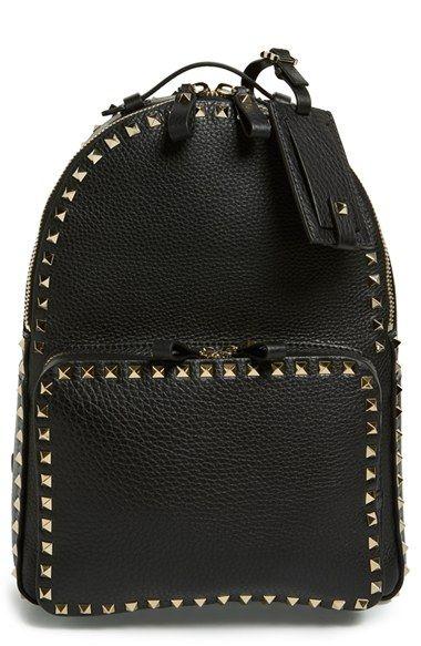 Valentino 'Medium Rockstud' Backpack available at #Nordstrom