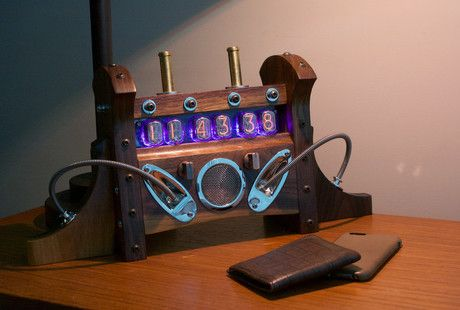 1000 Ideas About Nixie Tube On Pinterest Clocks Gear Clock And Steampunk Lamp