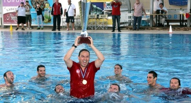 The mens' water polo team of Olympiakos is one more time the National Champion by beating at the final Vouliagmeni at their home 7-8!The 27th National Championship for our team!Congratulations to you guys!