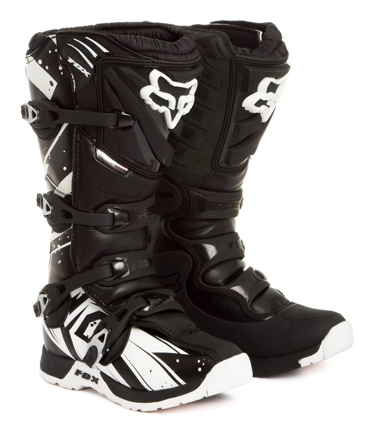 Fox Motocross-Stiefel Comp 5 Undertow - Black 2015 | Maciag Offroad