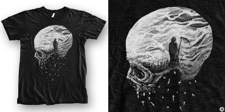 """mysterious"" t-shirt design by sebrodbrick"