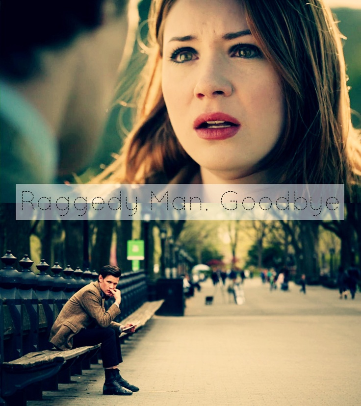 """Didn't want a life without you / but here I am living one"" - Brooke Fraser [Doctor Who: Amy Pond, Eleventh Doctor]"