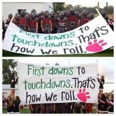 high school football banners ideas - Bing Images