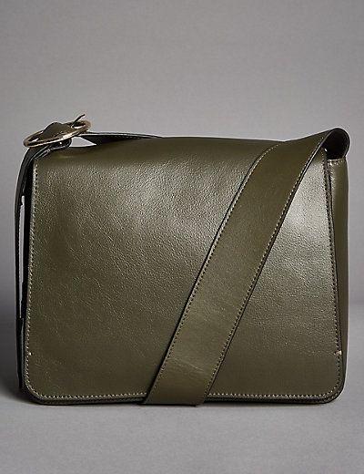 Leather Across Body Bag | M&S