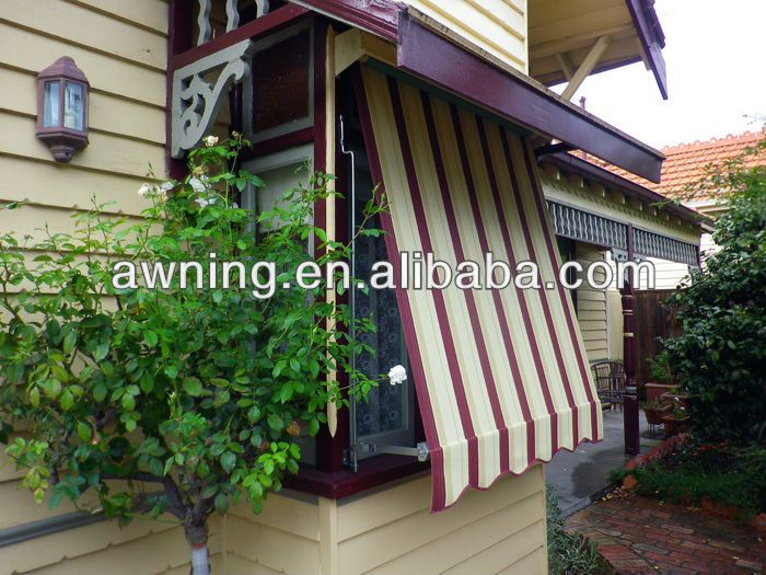 Polycarbonate Window Awning Designs Are Easy To Use And A Popular Style Of