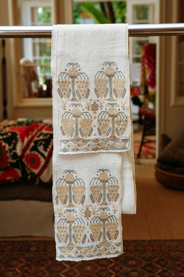 ottoman embroidery | Ottoman Turkish Embroidered Towels image 6