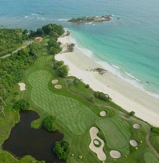 Golf tour in Indonesia