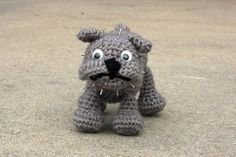 Dog Bulldog Free Amigurumi Pattern http://www.craftster.org/forum/index.php?topic=330571.0#axzz2xbfEqF12