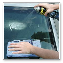 Many glass cleaners contain ammonia, which is a great grease cutter but has some significant disadvantages when it comes to cars.