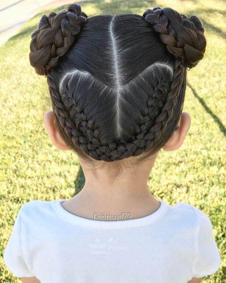 "✨""Let all that you do be done in love.""✨ . Just a braided heart into pigtail buns 👧🏻 excuse the awry part line. ☺️ . Happy first day of February! 💕 . #pr3ttyhairstyles #pr3ttyheartstyles #braidsforlittlegirls #cghphotofeature #valentineshair #braidstyles #braidedbun #braidedupdo #braided #braidedhair #pigtails #braidideas #hairoftheday #hairstyle #hairideas #hairinspo #abc7eyewitness #sweetheartshairdesign #lalasundaypost #peinadosparaniñas #peinado #penteado #trenzas #heartstyle…"