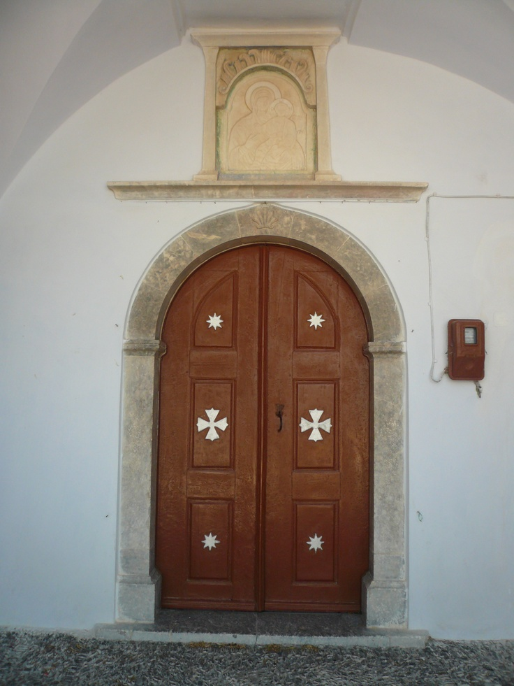 Door in Santorin