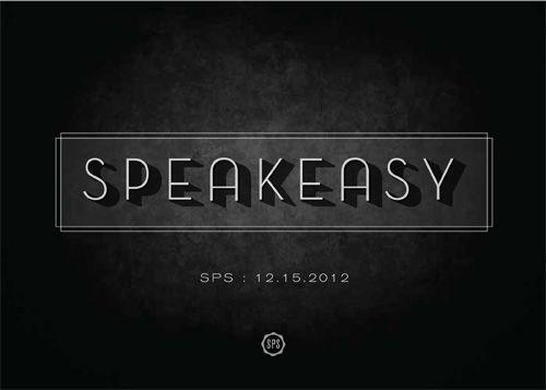 Art of the Menu: Speakeasy | Branding/Logos | Pinterest ...