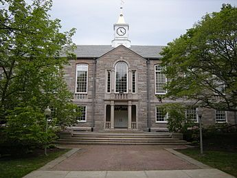 University of Rhode Island - Wikipedia, the free encyclopedia. Earned a Master's Degree in Library & information Science.