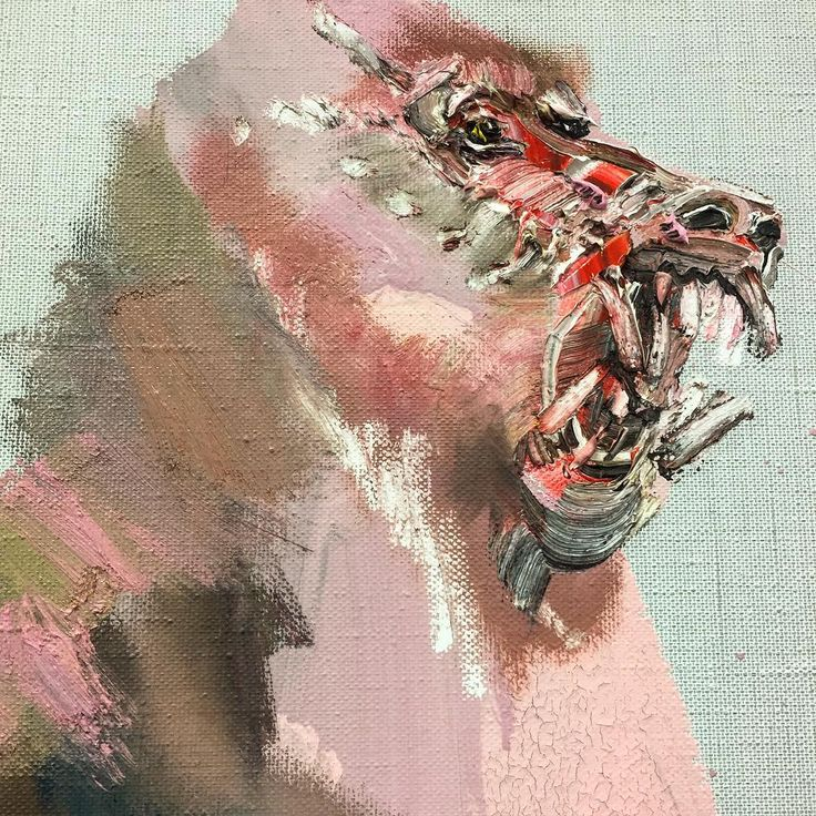 Pink Baboon #dream - David Choe