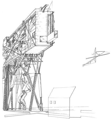 Daniel Libeskind #architecture #sketch