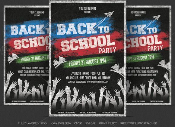 Back to School Flyer by DesignWorkz on Creative Market