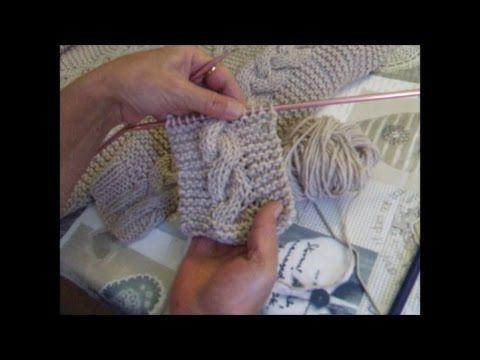 La maglia di Sara. Mantellina coprispalle. Parte 3 di 4. - YouTube