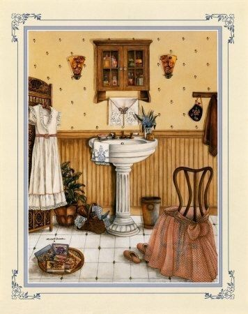 Her Bathroom By Kay Lamb Shannon