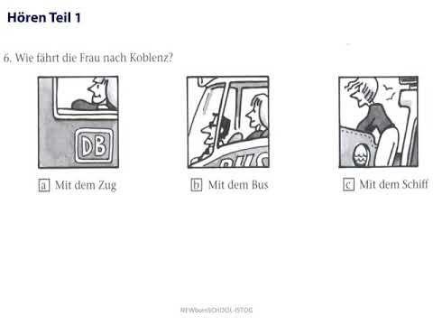 Deutsch telc 1 language tests start Practice materials