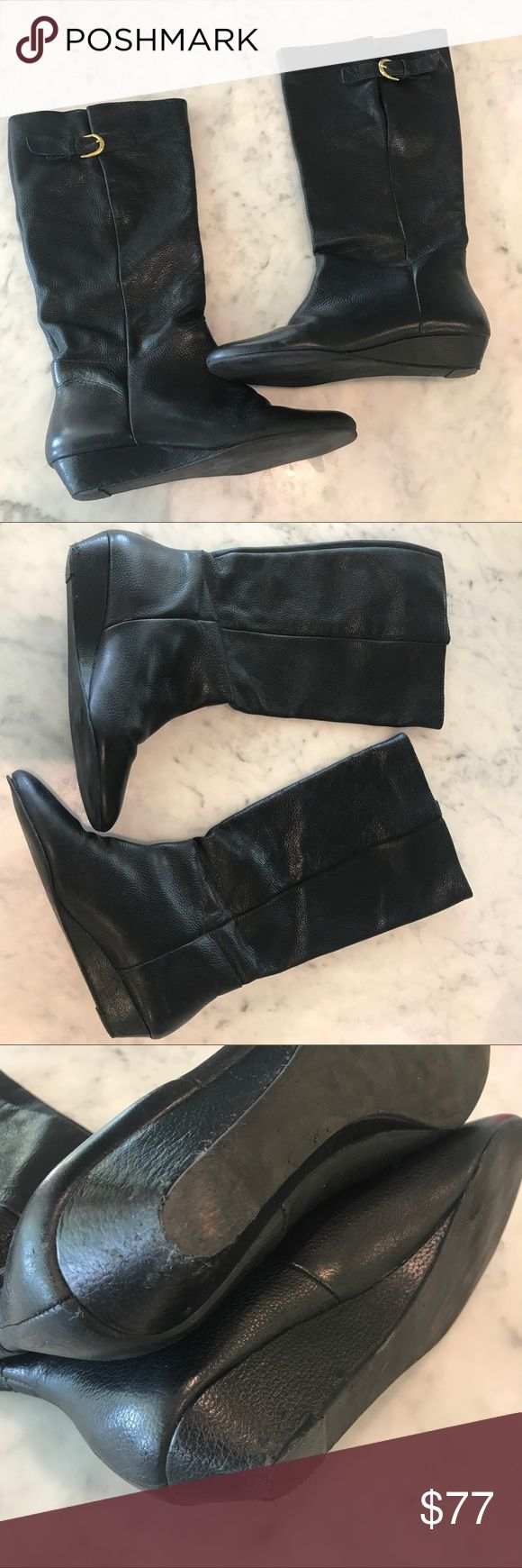 """Steve Madden """"Intyce"""" Boots Great condition. See pics. So comfy. Steve Madden Shoes Heeled Boots"""