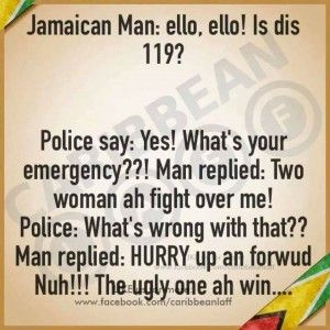 Jamaican penis joke impossible