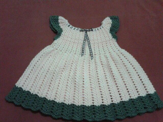 vestido a crochet ...