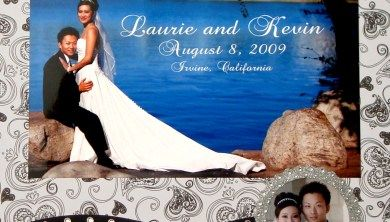 DIY Classic Wedding Scrapbook Part 1