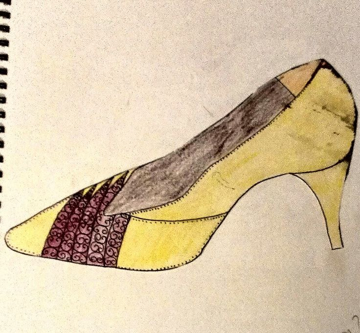 Study of a shoe