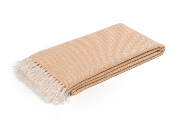 Buy ST. MORITZ SALMON BEIGE #CASHMERE THROW online. Amancara, #luxury linens since 1952.