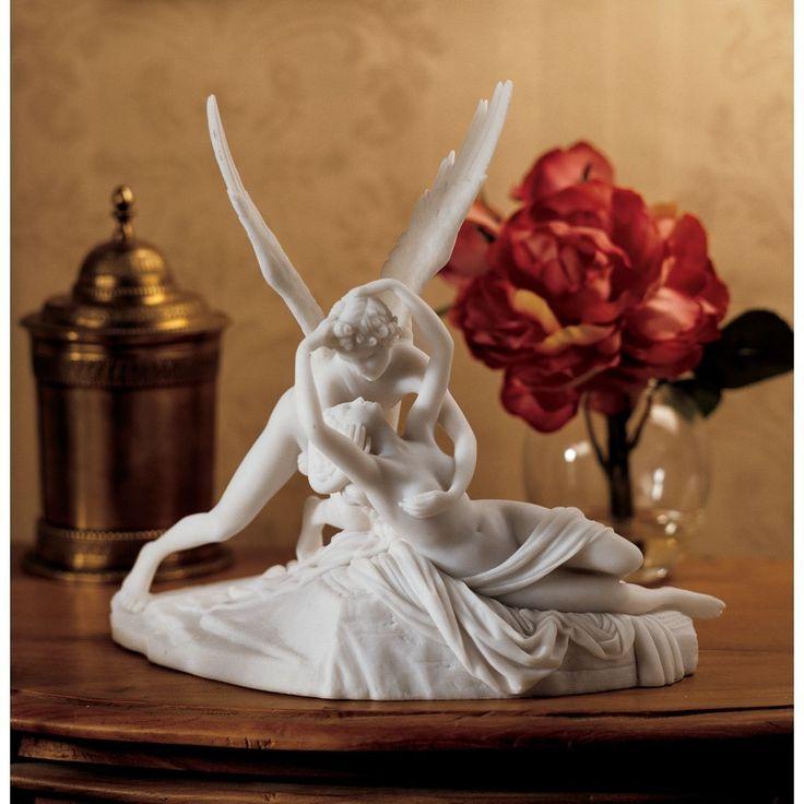 Cupid and Psyche Figurine   Wayfair