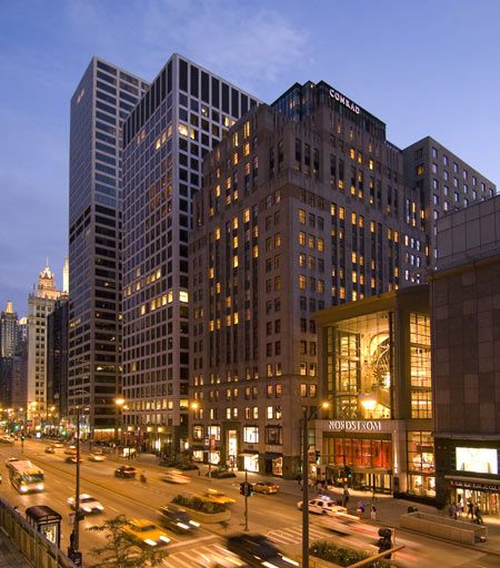 Conrad Chicago is now The Gwen