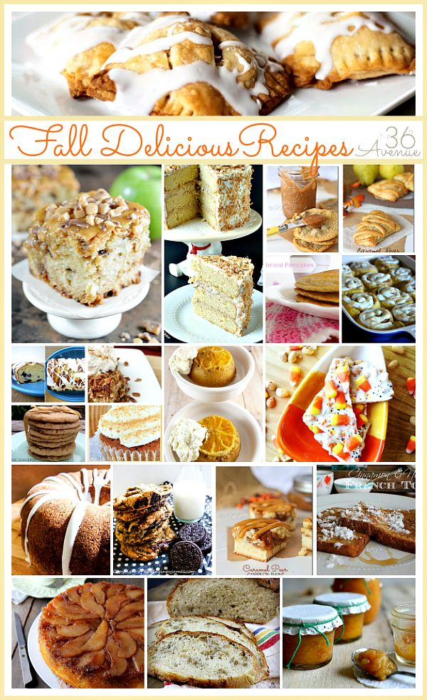 17 Best Images About Fall Recipes Desserts On Pinterest